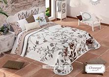 Ágytakaró, ágyterítő, egyszemélyes ágyra és francia-ágyra